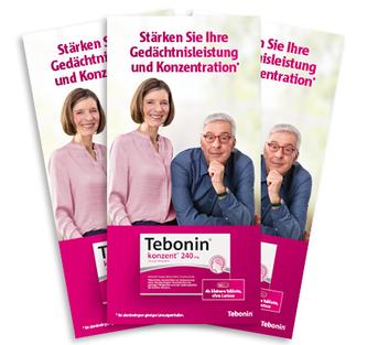 Tebonin® Broschüre Gedächtnis & Konzentration