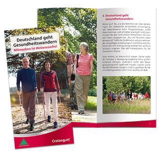 Crataegutt Broschüre Gesundheitswandern