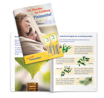 Pinimenthol Broschüre